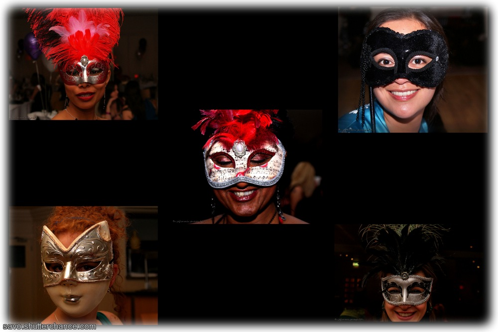 photoblog image Mask-eteers Collage!