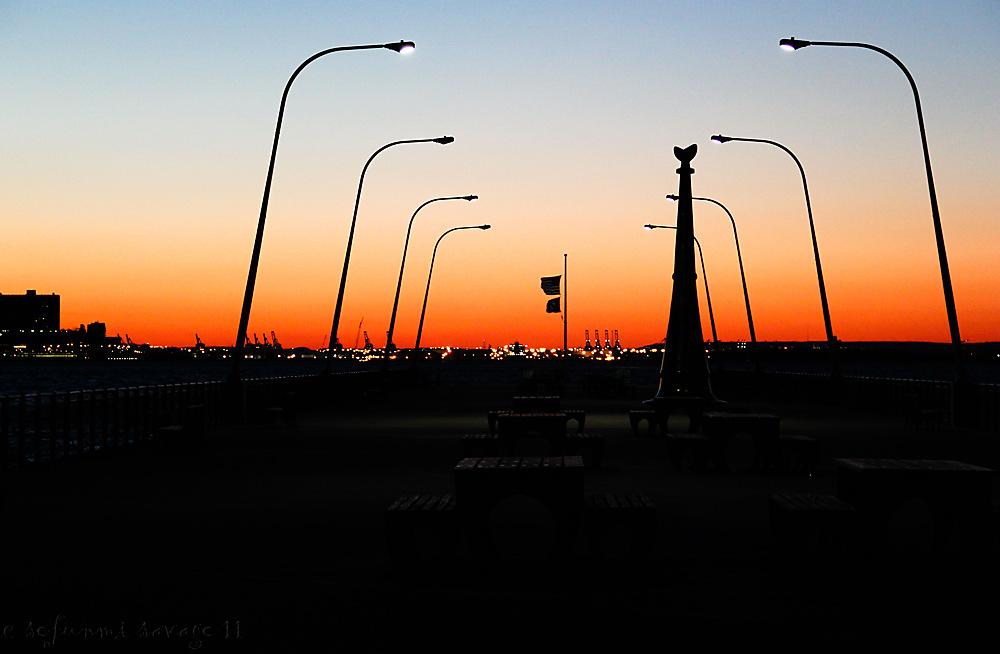photoblog image Veterans Memorial Pier